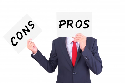 Bank pros and cons